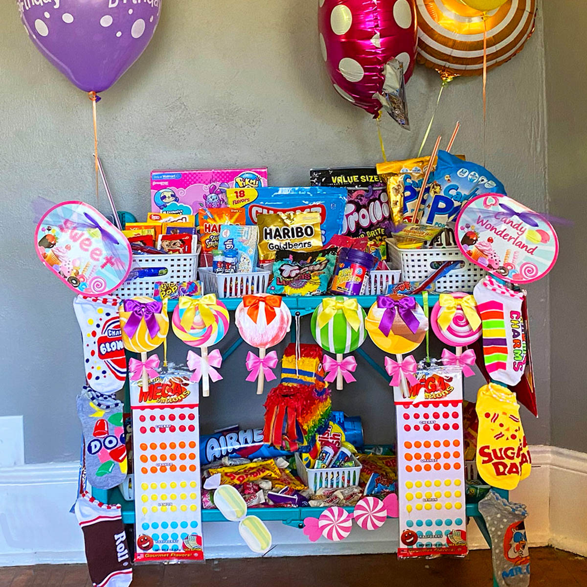 Candy Party Cart